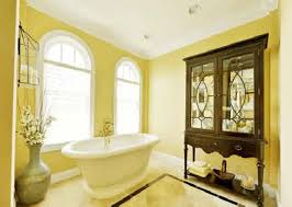 Bathroom Paint Color Ideas Sleek Yellow Bathroom Decorating Ideas On Yellow B 1200x797