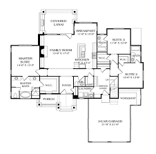 58 craftsman with open floor plans home plans house plan open