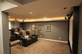 Home Theater Design Pictures 10 Awesome Basement Home Theater Ideas Basements Men Cave And Room