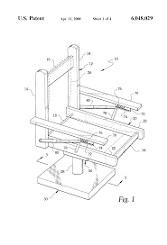 How To Stop Swivel Chair From Turning Patent Us6048029 Swivel Beach Chair Google Patents