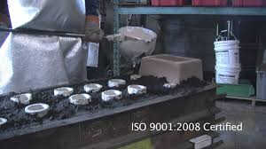 sand casting production using manual molding methods at alcast