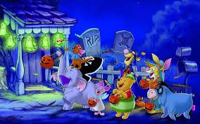 happy halloween hd wallpaper happy halloween winnie the pooh and friends u0027 hd wallpaper download