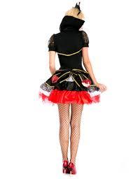 Red Queen Halloween Costume Moonight Alice Wonderland Halloween Costumes Womens Poker Red