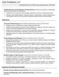Facilities Management Resume Samples  professional resume samples       product marketing manager resume