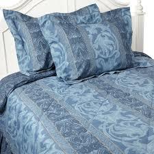 Girls Bedroom Gabriella Amazon Com Gabriella Queen Comforter Set Blue Home U0026 Kitchen