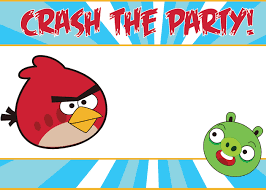 Birthday Invitation Cards For Kids Birthday Invitations Angry Bird Invitations Templates Ideas