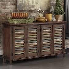 mestler dining room server with color accent doors by signature