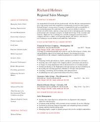 Sales Manager Resume Template      Free Word  PDF Documents     Regional Sales Manager Resume