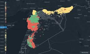 Syria Map War by Montage U2014 The Next Generation Of War Reporting U2013 Jigsaw U2013 Medium
