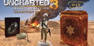 Edición coleccionista Uncharted 3
