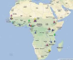 Africa Google Maps by On Day Of The African Child 2015 Girls Not Brides Calls For