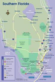 Arcadia Florida Map by Detailed Map Of Southern Florida You Can See A Map Of Many