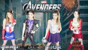 diy marvel avengers halloween costumes easy group costume