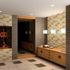 bathroom wonderful oceanside glass tile wall for modern interior