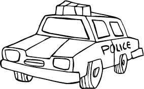 coloring pages of tools police car transportation coloring pages for kids printable