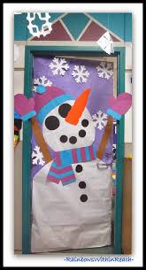 delighful winter classroom door decorations decorationsautism