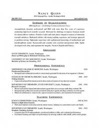 Resume Examples  current graduate student resume template college