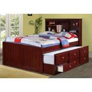 cosco elements twin wood loft bed with 3 shelf bookcase u0026amp 3