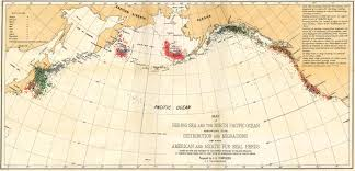 Map Of The Red Sea An 1899 Map Of The Distribution In Red And Migrations Of The