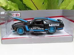 Mustang Boss 302 Black Maisto 1 24 Custom Shop 1970 Ford M End 10 19 2017 9 50 Pm