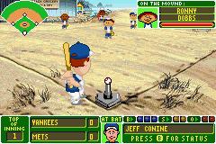 Original Backyard Baseball by Backyard Baseball U Venom Rom U003c Gba Roms Emuparadise