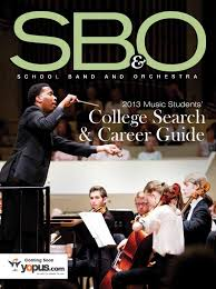 sbo college search u0026 career guide by sbo band u0026 orchestra