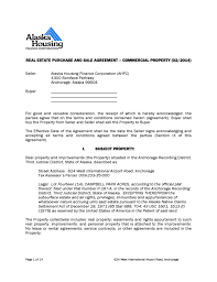 real estate purchase and agreement alaska free download