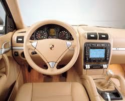 Porsche Cayenne Inside - 2010 porsche cayenne beige leather interior eurocar news