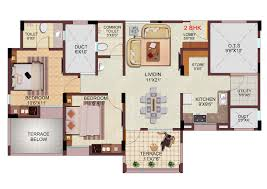 Palace Floor Plans by Palace Orchids Floor Plans Project 3d Views In Kolhapur