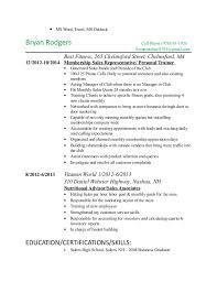 Retail Sales Consultant Exemple De Cv Work Experience Retail Sales