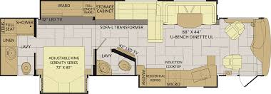 Fleetwood Bounder Floor Plans by Discovery Rv U2013 Fleetwood Discovery Rv U2013 Class A Diesel Motorhomes