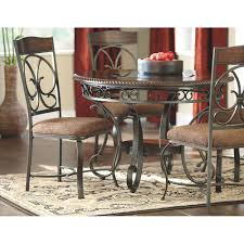 Ashley Furniture Round Dining Sets Glambrey Round Dining Room Table D329 15 Signature Design By Ashley