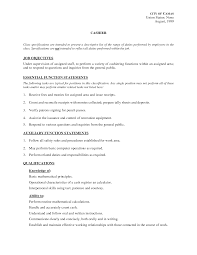 sample bank teller resume resume examples job summary frizzigame resume description examples