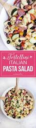 Pasta Salad Ingredients Easy Tortellini Italian Pasta Salad I Heart Nap Time