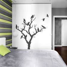 Bedroom Wall Decals Trees Crow Tree Wall Decal