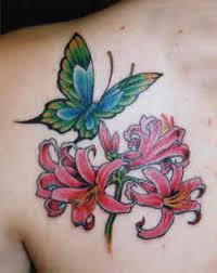 Flower, Star and Butterfly Tattoo Designs - Favorite Girl Tattoos of All Time