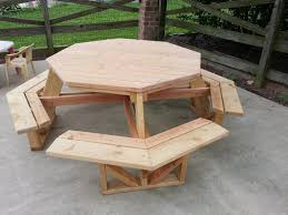 Plans For Wood Picnic Table by Make A Wood Picnic Table Plans Boundless Table Ideas