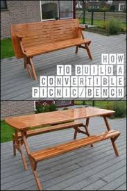 Wooden Folding Picnic Table Plans by Convertible Bench Picnic Table Plans Wooden Folding Picnic Table