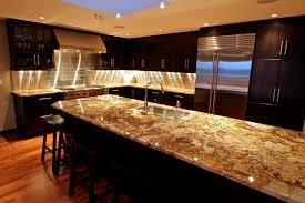 Kitchen Counter Designs by Stainless Steel Single Handle Faucet Granite Kitchen Countertop