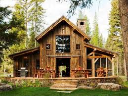 rustic modern cabin house plans for simple look modern house design