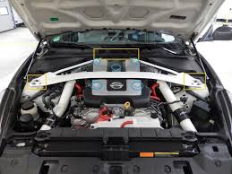 nissan 370z ark exhaust diy z1 intake plenum and spark plug swap picture heavy nissan