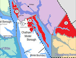 Juneau Alaska Map by Funter Bay Landowners Object As Juneau Eyes Expansion