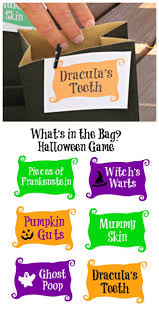 Printable Halloween Bags Halloween Toucy Feely Guessing Game W Free Printable