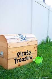 diy treasure chest toy box a houseful of handmade