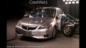lexus ct200h vs acura ilx acura ilx hybrid 2013 side crash test nhtsa crashnet1