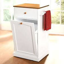 trash cans pull out trash bin sizes effective kitchen cabinets