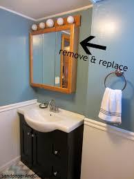 bathroom lighting off center bathroom light fixture decorate