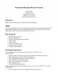 Fast Food Resume Samples by Resume Examples For Restaurant Server Samples Of Resumes