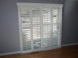 large sliding glass door window treatments u2014 office and bedroom