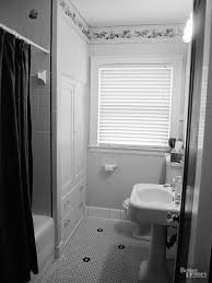 Black And White Small Bathroom Ideas Small Bathroom Remodels On A Budget